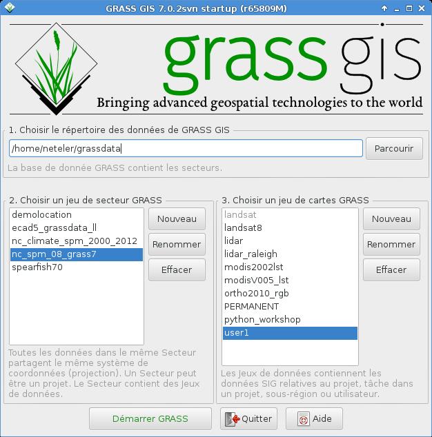 Grass7 startup f r
